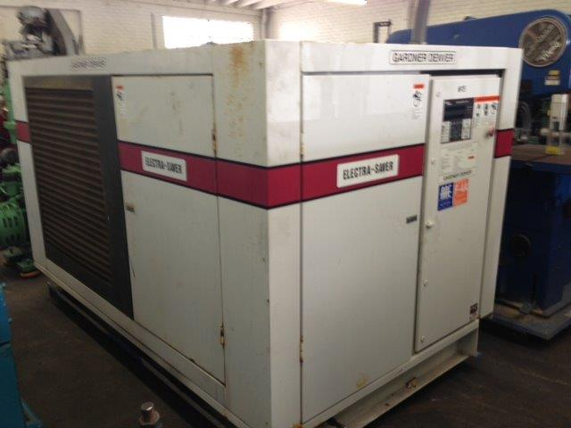 726 CFM, 125 PSI, GARDNER DENVER, No. EAQ99K, 150 HP, 2000, P750A AIR DRYER