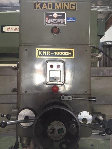5' x 15 , KAO MING Model KMR-1600DH, 30 - 1580 RPM, 7.5 HP, Pwr. Clamp/Elevation
