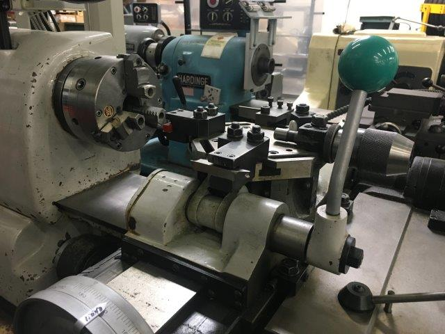 No. FHR68, VICTOR, CHUCKING LATHE LIKE HARDINGE, DIGITAL READOUT