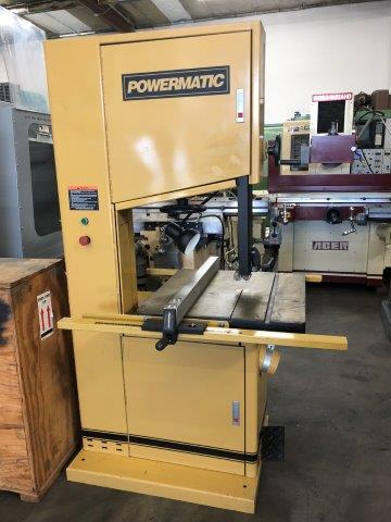 20 POWERMATIC,No. 2013-3, WOODWORKING VERTICAL BAND SAW