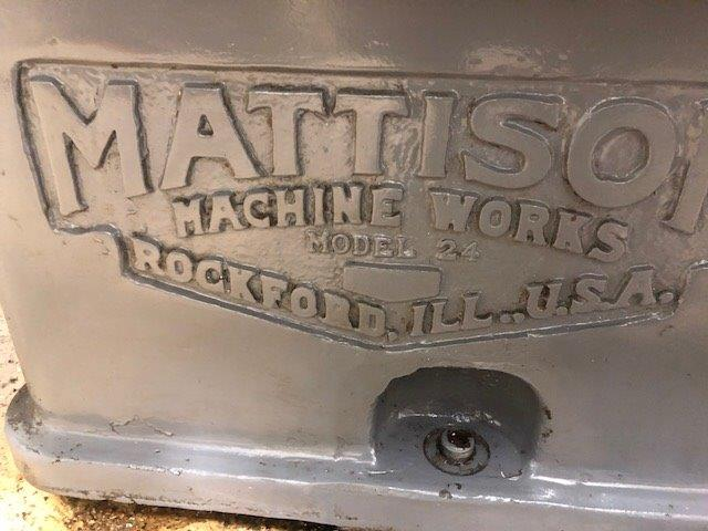 42 , MATTISON, No. 24-42, 75 HP, 42 CHUCK, 24 WHEEL