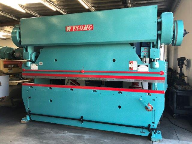 90 Ton, WYSONG 90-10, 12 FT. , 126 BTWN HOUSINGS, 3 STROKE, 5 HP