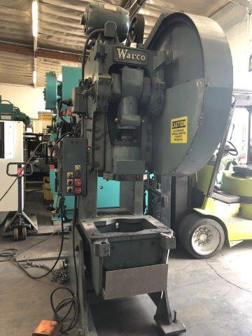 50 Ton, WARCO, AIR CLUTCH, 6 STROKE, 11 SHUT HEIGHT