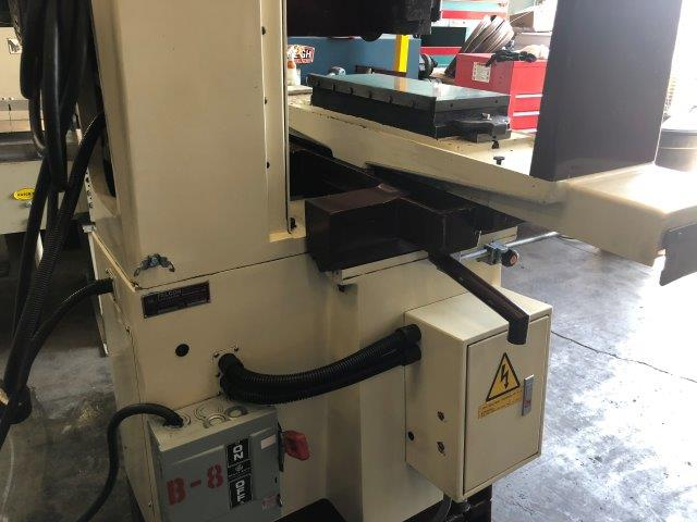 8 x 18 , CHEVALIER ACCUGRIND 818SP, MAGNETIC CHUCK, MICROFEED