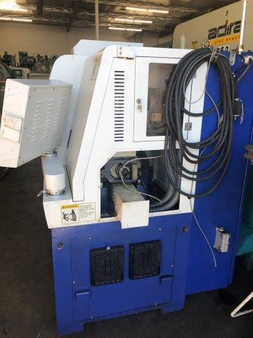 No. SL12SE, HANWHA, FANUC OI-TB, 2005, SWISS TYPE CNC SCREW MACHINE 12mm