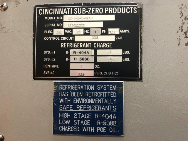 CINCINNATI, No. ZH-8-1-1-H/AC, TEMPERATURE / HUMIDITY