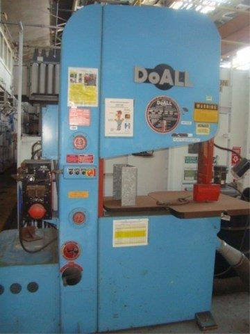 35 x 20 , DOALL, ZW-3620 ZEPHYR, 1992, HIGH SPEED, 50-5200 FPM, BLADE WELDER