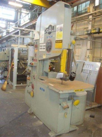 35 x 20 , DOALL, ZW-3620 ZEPHYR, 1987, HIGH SPEED, 50-5200 FPM, BLADE WELDER