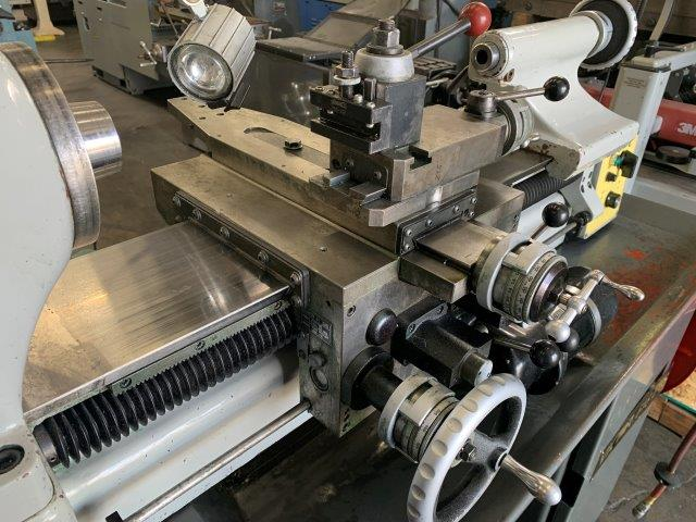 No. 618EVS, VICTOR, TOOL ROOM LATHE WITH TOOLING